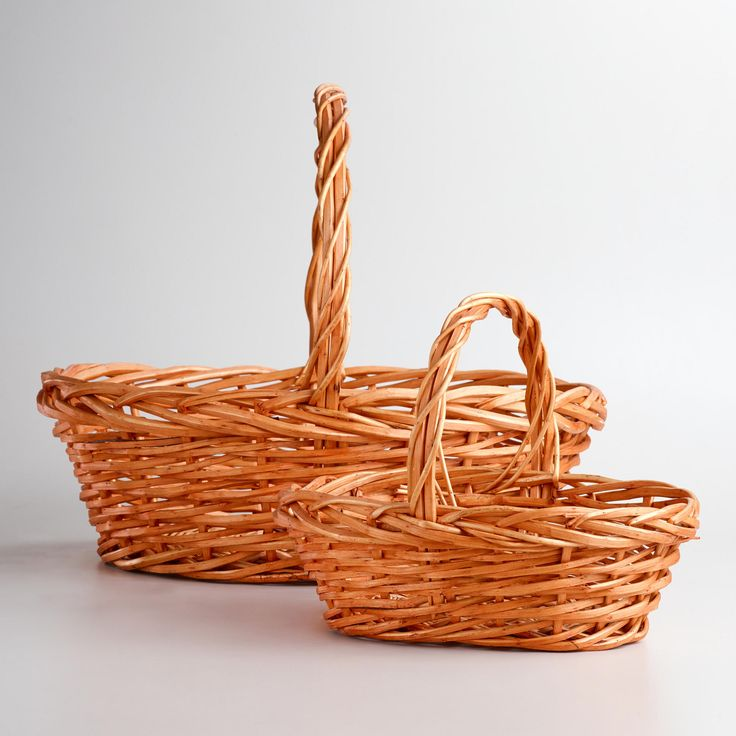 Captivating Our Honey Oval Willow Baskets Offer Extra Storage And Versatile Good Looks  At An Incredible Value.