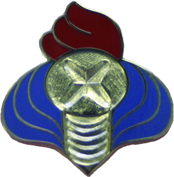 352 Maintenance Battalion Unit Crest (No Motto)