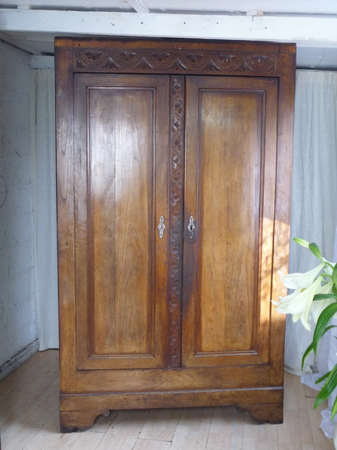 Chestnut Provincial French Armoire Http://www.dazzlevintagefurniture.co.uk