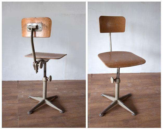Super bureaustoel in huis pinterest for Bureau stoel
