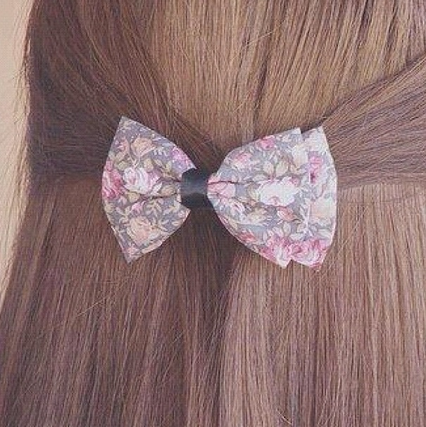 floral bow <3