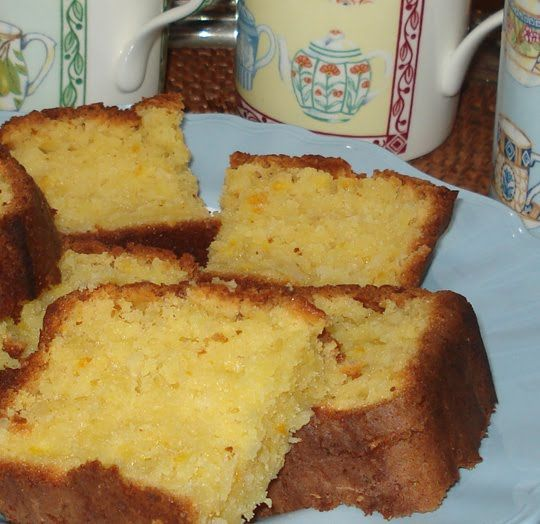 Down to Earth: Whole orange cake