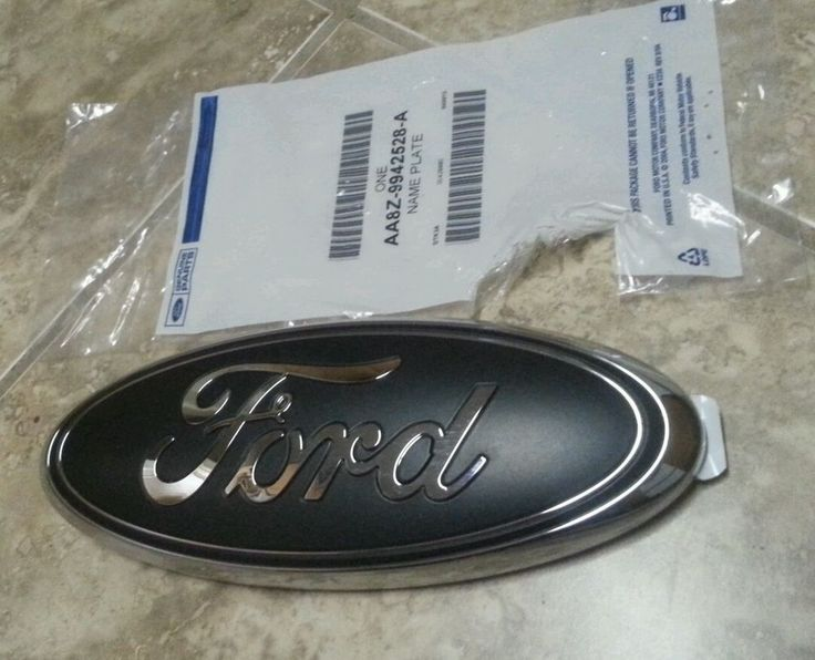 This is a new ford emblem that I buy and custom coat over the blue to make it Matte black. it will use the two way tape to attach Fits 2006-2011 ford ranger tailgates and grills. | eBay!