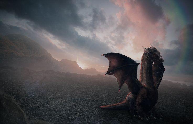 Dragon Saga:Baby Dragon by DigitalSummit.deviantart.com on @DeviantArt