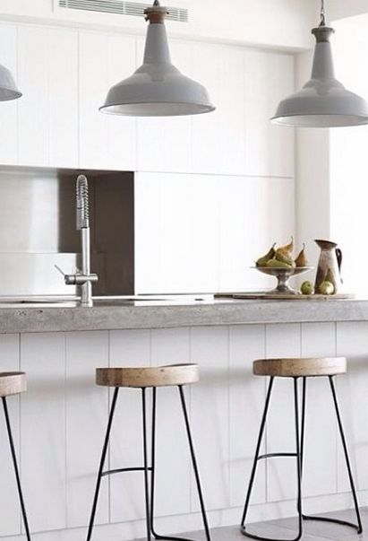 Kitchen Breakfast Minimal Home Interiors Pinterest