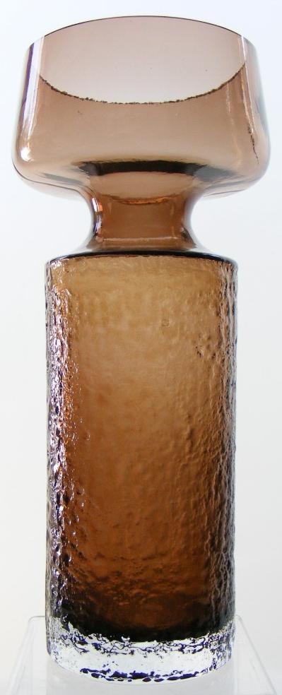 Riihimaki 'Safari' glass vase. Designed by Tamara Aladin