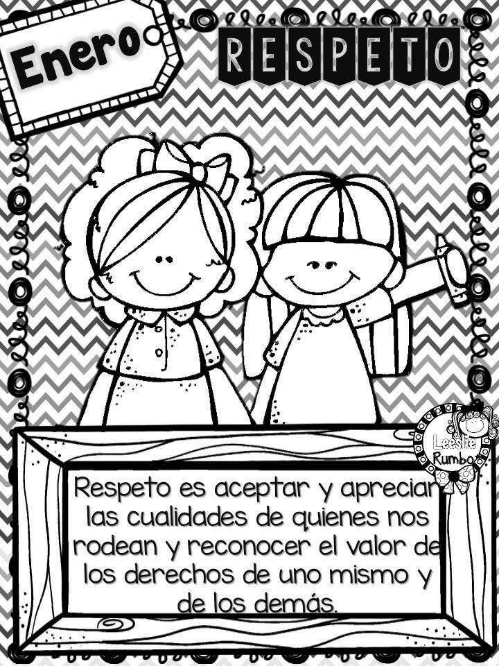 Respeto Escuela Respeto Imagenes Valor Respeto Para Niños Y