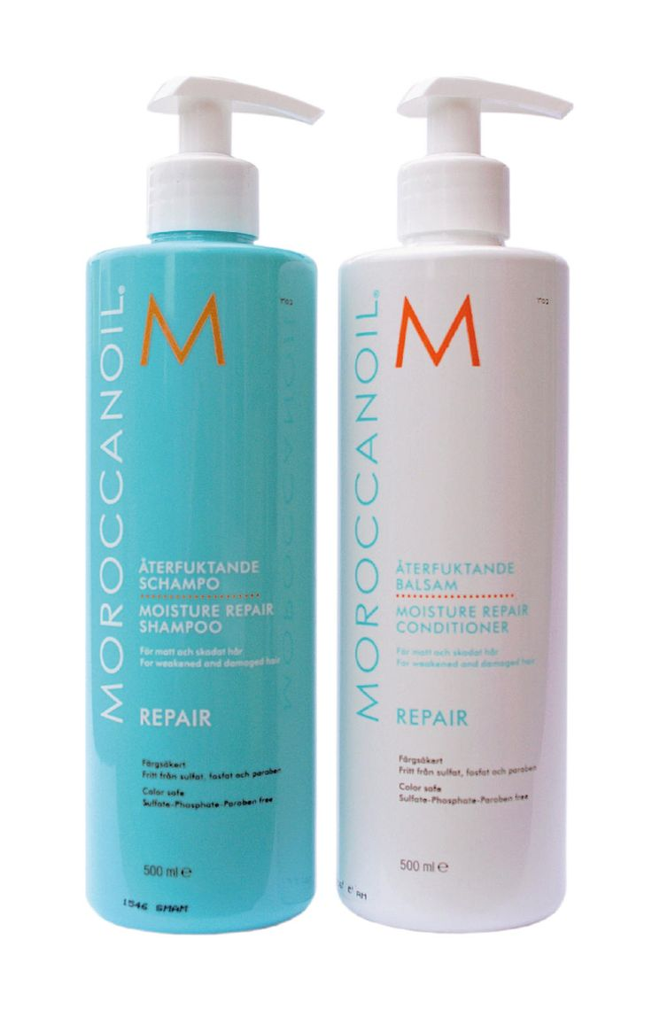 Dry/Coarse Hair: Moroccan Oil Hydrating Shampoo/Conditioner ($22 - $23).