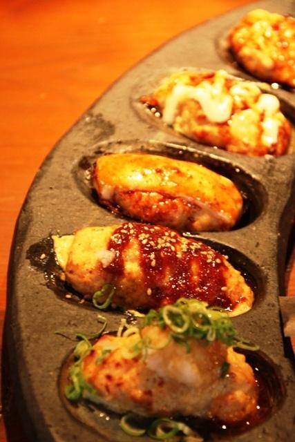 1丁目『鶏屋 Jizo』  つくね盛り合わせ by tenjinbazaar, via Flickr