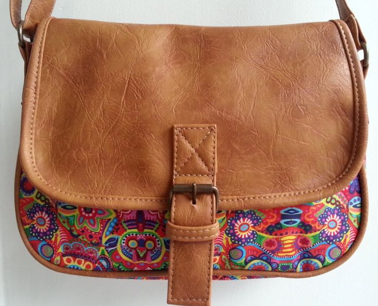 Bolsa De Tecido Com Ziper E Forro : Ideias sobre artesanato em couro no