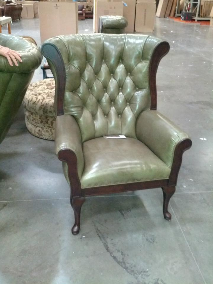 Bandera Chair In Weston Moss @Hancock U0026 Moore