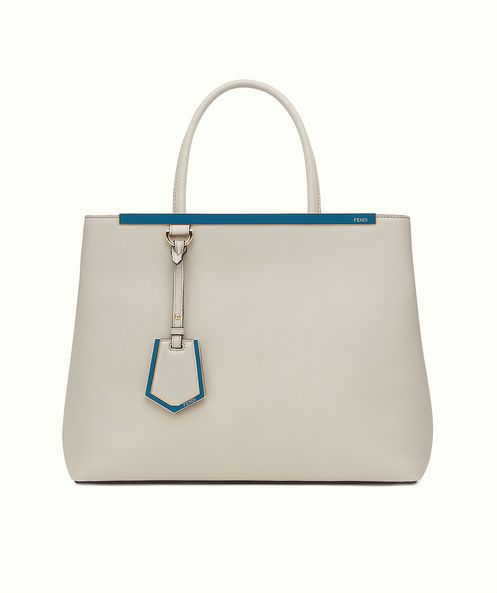 Fendi 2Jours in power grey and cerulean blue.