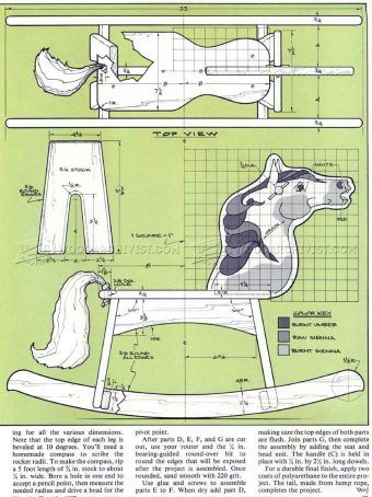 1000 Ideas About Wooden Rocking Horses On Pinterest