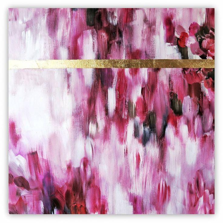 Congratulate, Asian canvas foil art