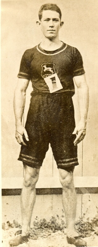 Reggie Walker - winner of 100m gold at the first London Olympics of 1908.