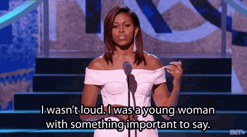 Michelle Obama at the 'Black Girls Rock' awards