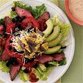 This #recipe for Santa Fe Beef #salad is such an #easy #dinner for the family.: Easy Avocado, Healthy Salad Recipes, Avocado Recipes, 30 Awesome, Avocado Salad, Awesome Avocado, Beef Salad, Fe Beef, Avocado Dips