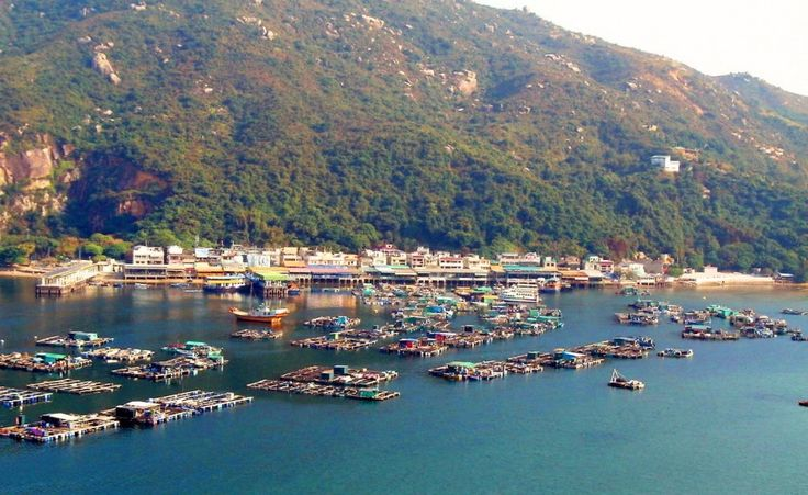 Modest Lamma Island Features Its Beautiful Nature : Lamma Island Best View From Top Angel