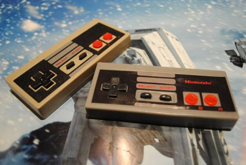 NES controller soap by Nerdy Soap