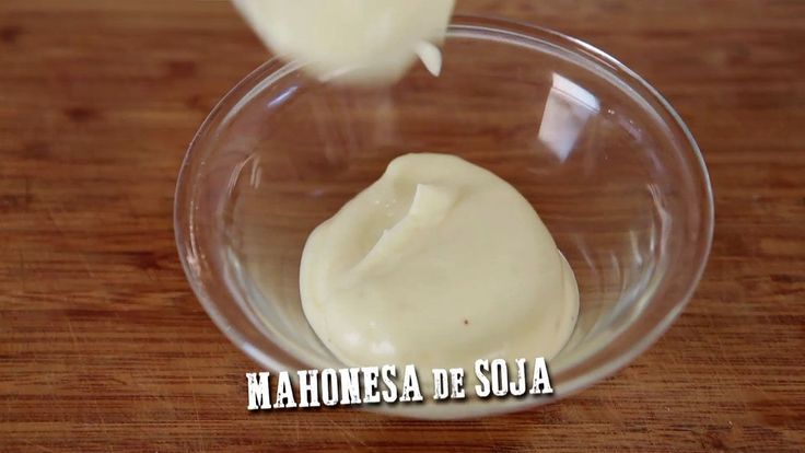 MAHONESA DE SOJA (Veganesa)