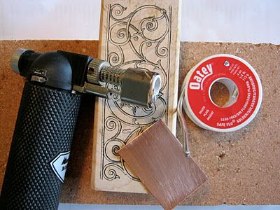 You will  need silver lead free plumbing solder from a hardware store. It's a bit pricy, ($20) but a small roll will make tons of jewels. More How-To's Follow!