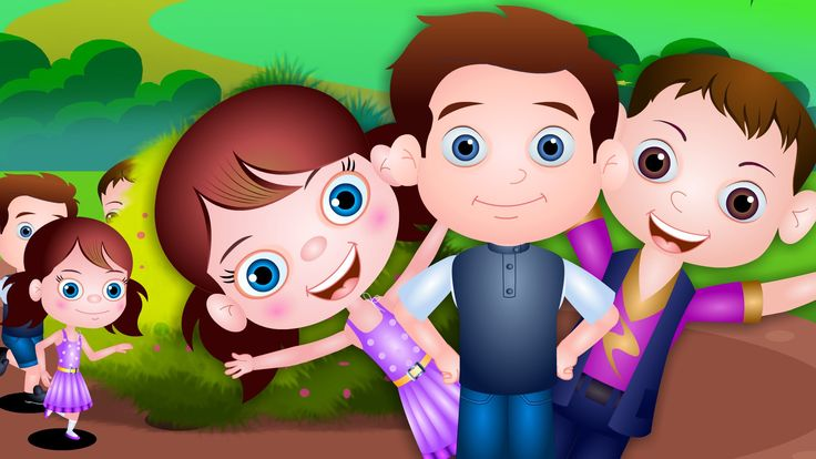 Here We Go Round The Mulberry Bush | Nursery Rhymes For Kids | By TinyDr...