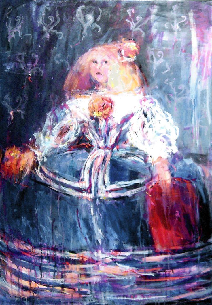 """Dariusz Grajek """"Infantka Małgorzata"""" / kontakt w sprawie dzieła biuro@dnagallery.pl"""