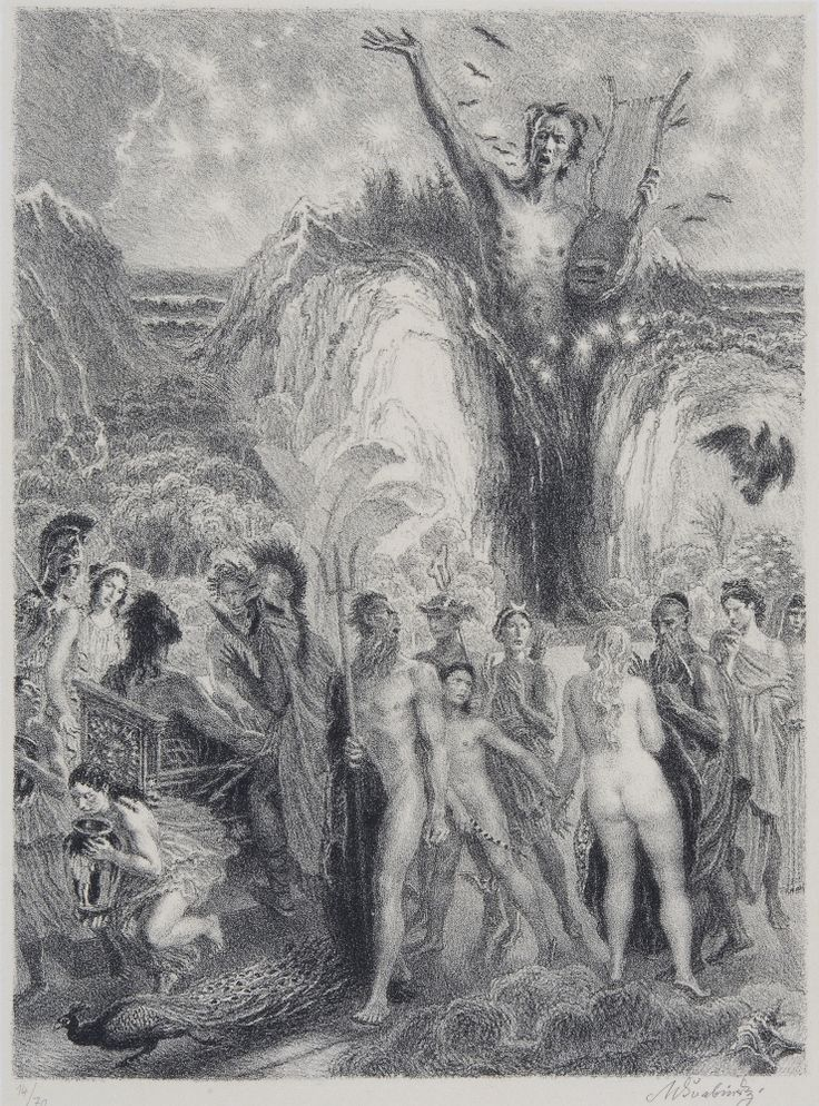 max svabinsky-Hymnus na moře v noci (1944)