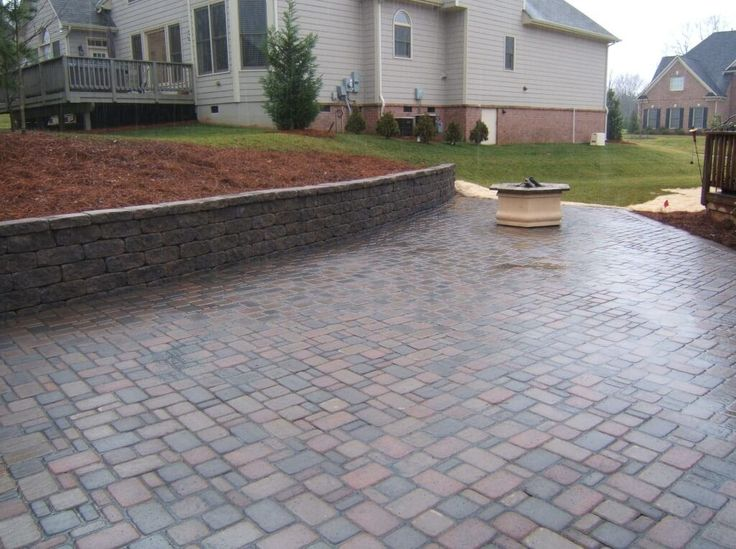 Dazzling Patio Paver Design With Slate Picture Patio