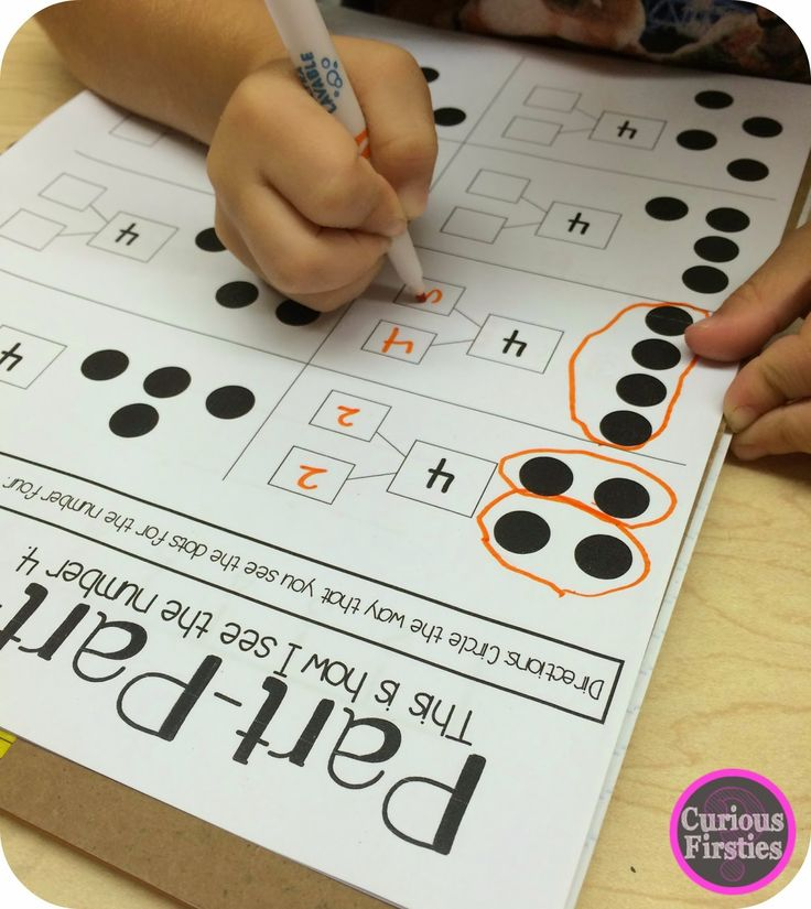 How I SEE Numbers: Part-Part-Wholeby Curious Firsties