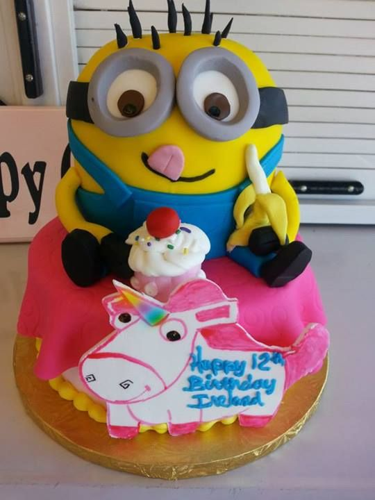 121 Best Images About Cakes Despicable Me Minions On