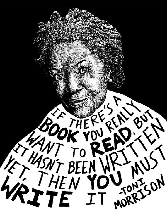 Toni Morrison Authors Series by Ryan Sheffield by RyanSheffield, $15.00…
