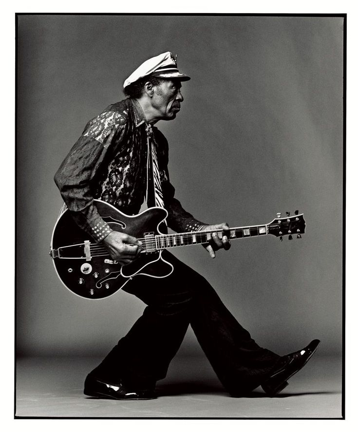 Chuck Berry (1926) - American guitarist, singer and songwriter, and one of