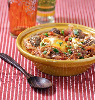 Recette de tajine de ketfas aux oeufs à faire avec de la viande hachée d'agneau, boeuf ou chameau si vous en trouvez ! Recette marocaine typique du ramadan