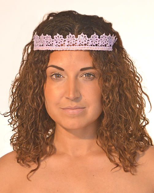 www.freemonarch.com Stiffened lace Headband/Wire Item Available for Reproduction and Customization Weight - Light