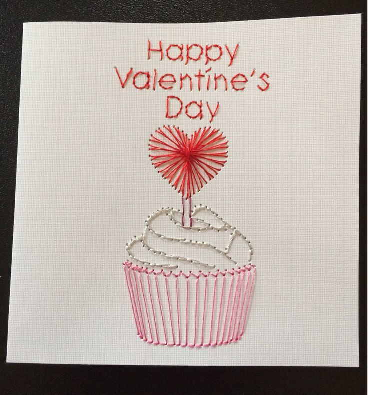 valentine cupcake card holder