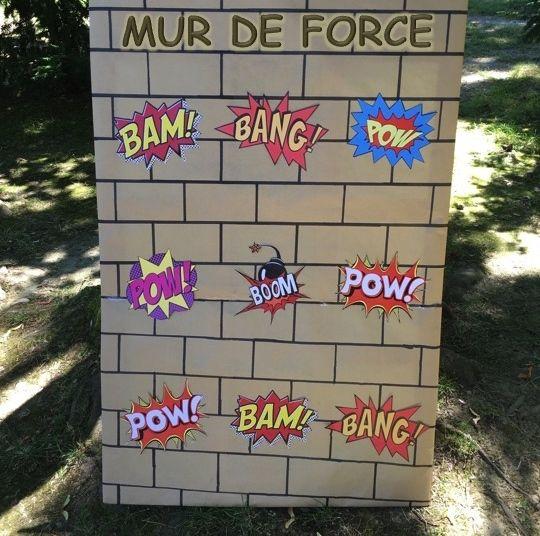 """Tuto """"Mur de force"""" anniversaire Captain America"""