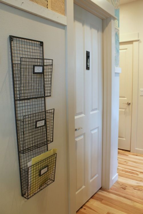 25 best images about paper on pinterest trays mail for Attach wire to wall