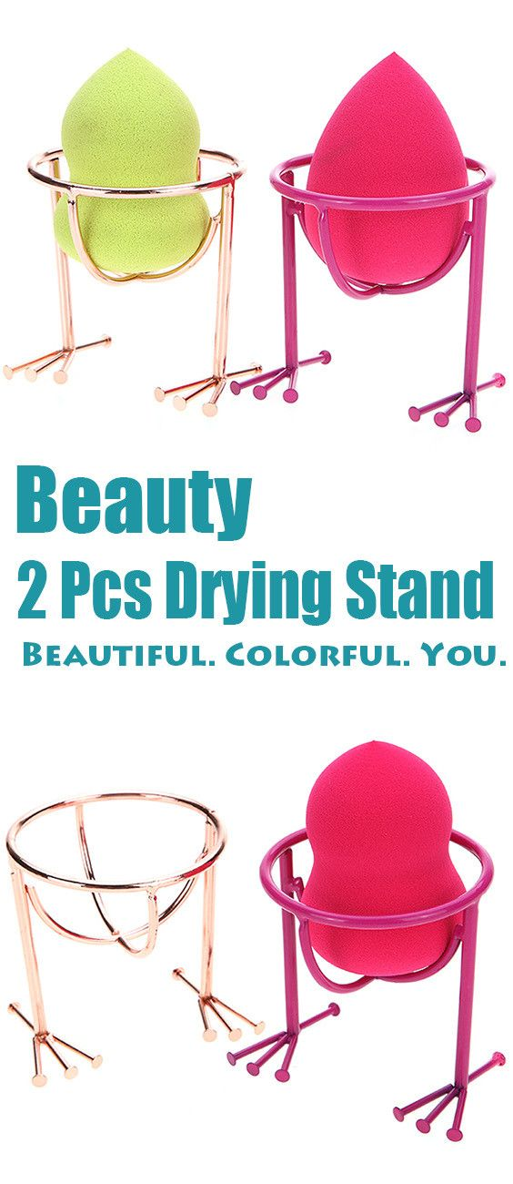 $7.23 2 Pcs Beauty Blender Holder Drying Stand
