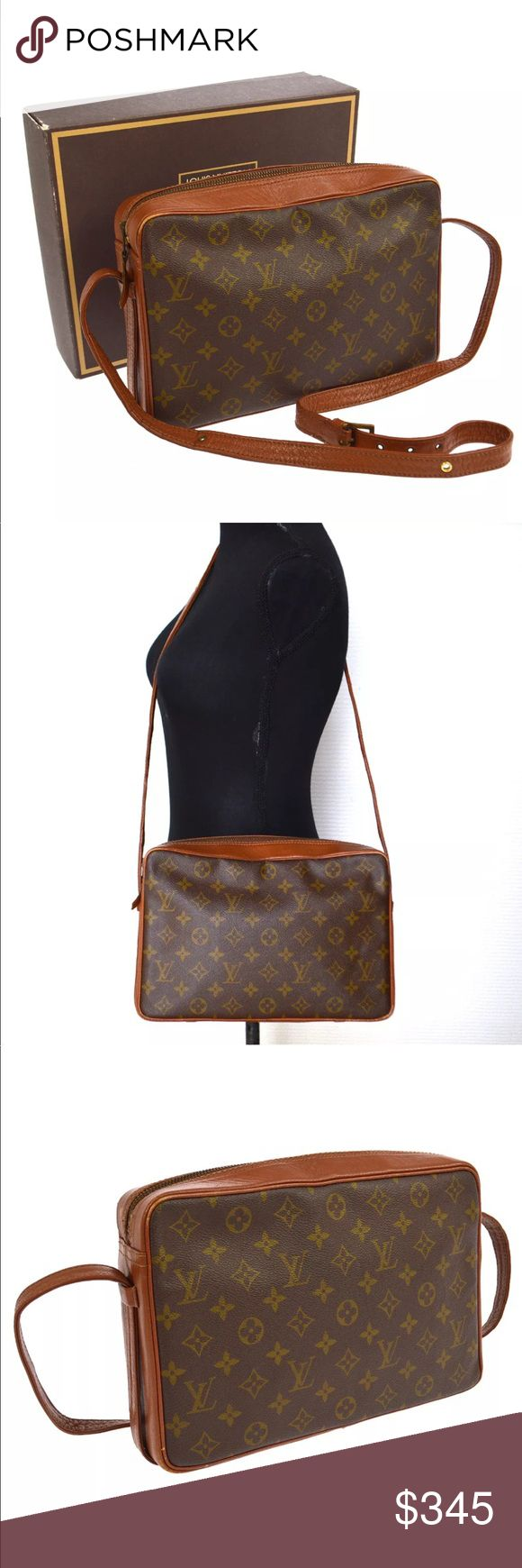 """Authentic Louis Vuitton Sac 30 Messenger Vintage Sac by Louis Vuitton from 1970s. Stains and scuffs, hardware tarnished, leather aging. 11.9"""" by 7.8"""". Louis Vuitton Bags Crossbody Bags"""