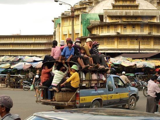 Quiet Phnom Penh