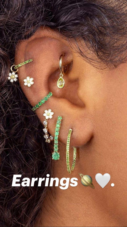 Pretty Ear Piercings, Ear Piercings Chart, Types Of Ear Piercings, Unique Piercings, Female Piercings, Ear Piercings Cartilage, Jewelry Tattoo, Ear Jewelry, Cute Jewelry