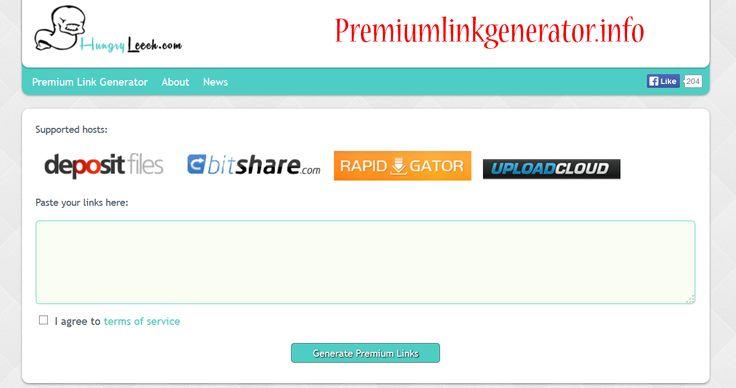 Hungryleech Premium Link generator - Hungryleech Premium ...