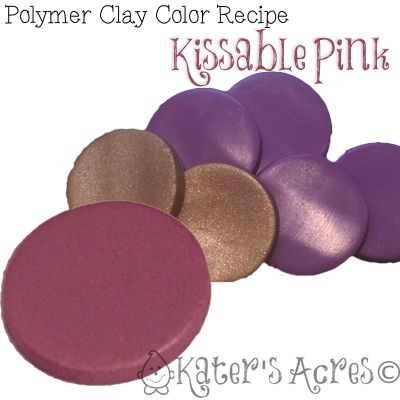 232 best Polymer Clay Color Recipes images on Pinterest | Clay ...