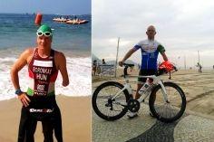 Boronkay Péter paratriatlon olimpiai előfutamon Rióban