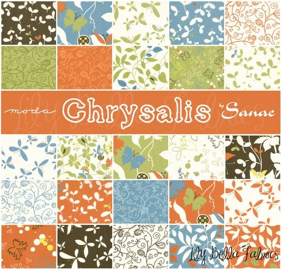 Sanae For Moda Chrysalis Layer Cake 10 Inch Quilting