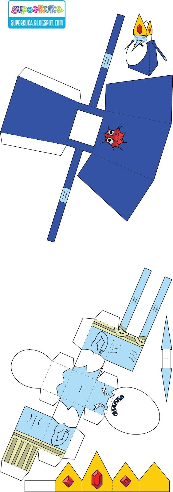 super kuka: PaperToy - Hora de Aventura