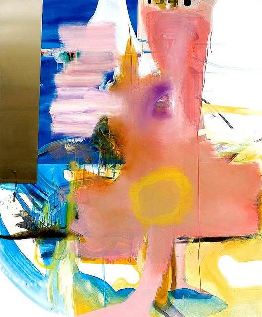 'Schritte' (2006) by Albert Oehlen