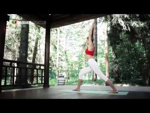 ▶ Стройные ноги за 30 минут — Йога для начинающих. - YouTube