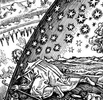 Ancient beliefs and early astronomy Google Image Result for http://www.cosmosfrontier.com/files/Flammarion.jpg